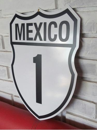 cuadro ruta interestatal mexico 1 + stickers