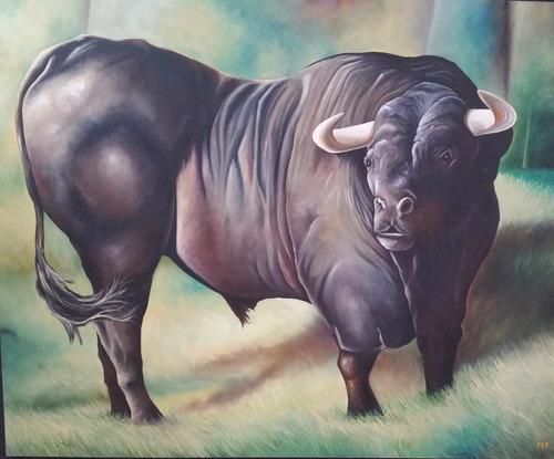 cuadro toro - vendo - permuto - elegante