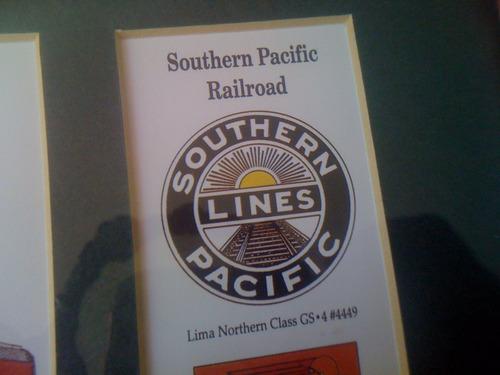 cuadro tren southern pacific railway by michael scott rear