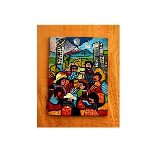 cuadro urbano ml 22x4x27 madera