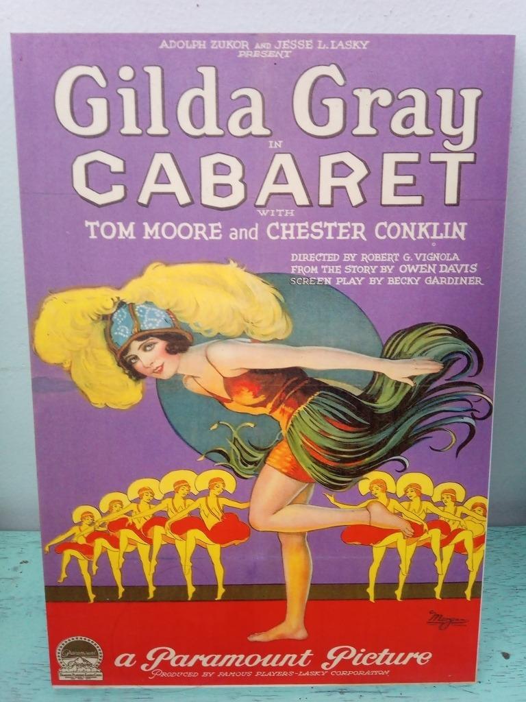 Cuadro Vintage Cine Cabaret Retro 39 000 En Mercado Libre