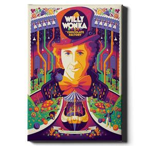 Cuadro Willy Wonka 30x40
