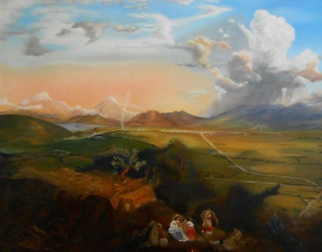 Cuadro/pintura Al Óleo Enmarcado, Landesio - $ 4,670.00 en Mercado Libre