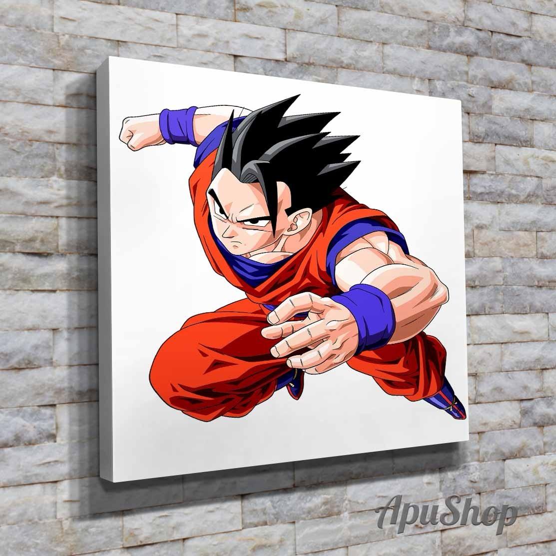 Cuadros 40x40 Dragon Ball Z Dbz Gohan Dibujos Anime Y Más - $ 599,00 ...