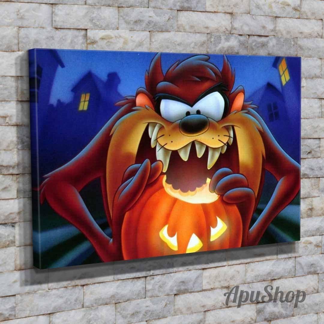 Cuadros 45x30 Looney Tunes Demonio De Tazmania Taz Halloween - $ 649 ...