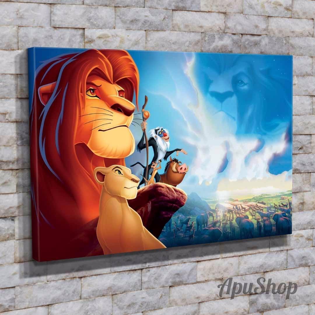 Cuadros 45x30 Película El Rey León Disney Infantiles Y Más - $ 599 ...