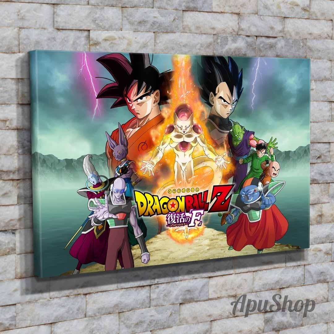 Cuadros 75x50 Dragon Ball Z Anime Dibujo Animado Goku Y Mas