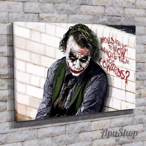 cuadros 75x50 películas joker guasón batman dc comics y más