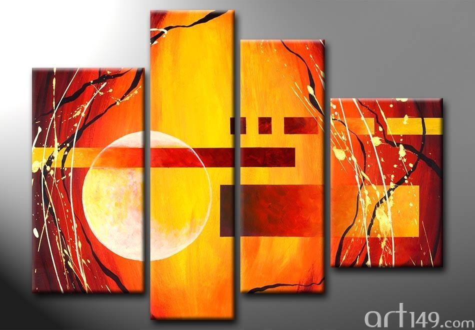 Como hacer cuadros abstractos modernos amazing cuadros - Como hacer cuadros modernos ...