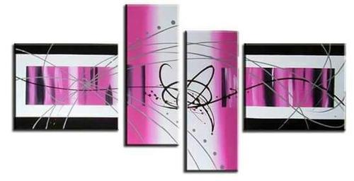 cuadros abstractos 140x85 obras personalizadas! newdecor-uy