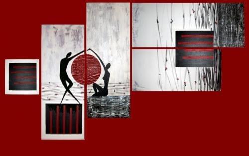 Cuadros abstractos al leo minimalistas lbf 1 for Cuadros minimalistas