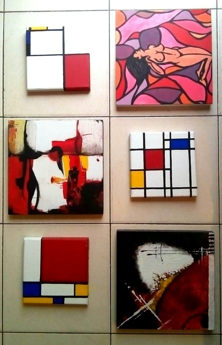 Cuadros Abstractos Artisticos Dipticos Tripticos Etc 59900 En - Cuadros-pequeos