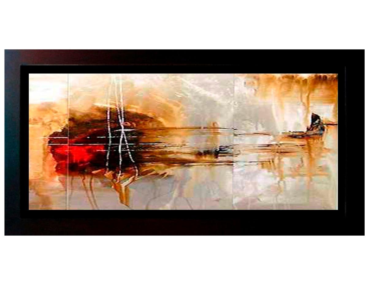 cuadros abstractos de alta calidad con marco de madera ForCuadros Abstractos Con Marco