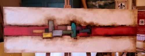 cuadros abstractos decorativos texturados originales