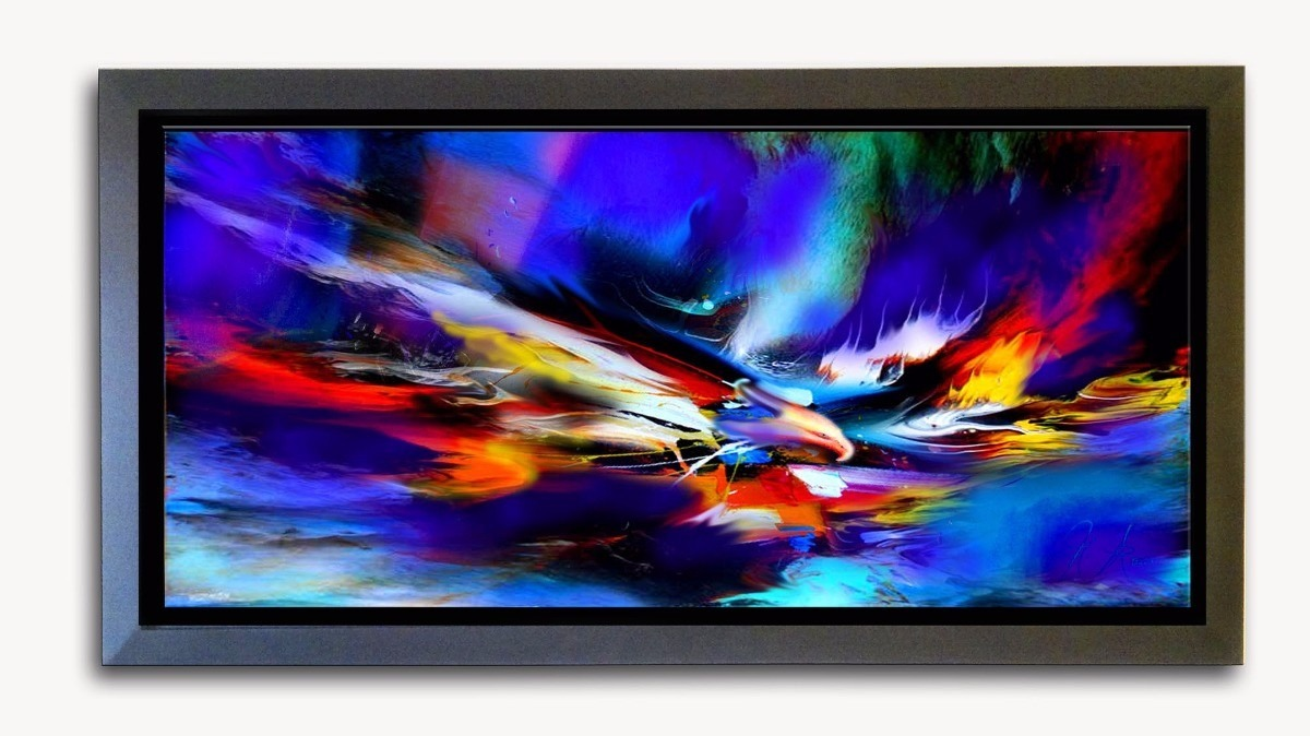 Cuadros abstractos modernos de alta calidad al oleo bs for Fotos de cuadros abstractos al oleo