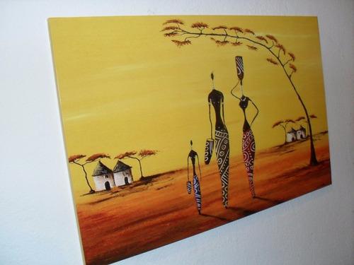 cuadros abstractos modernos decoracion africana xl