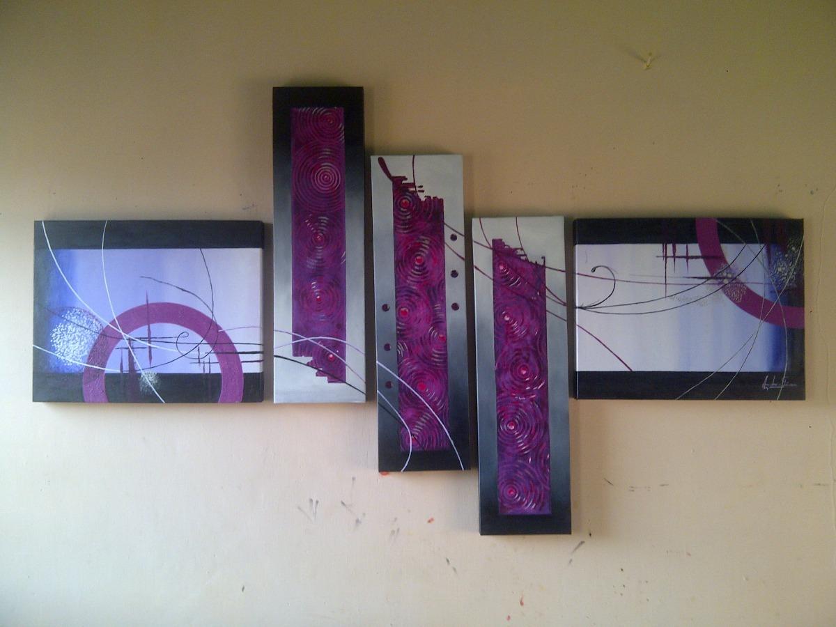 Cuadros Abstractos Modernos Decorativos Marcos Arte Pop Mdf - Bs ...