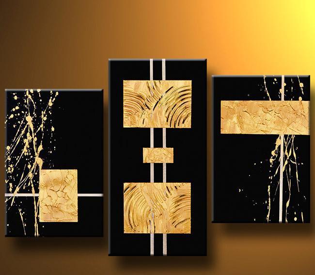 Cuadros Abstractos Modernos En Acrilico Texturados Relieves - Cuadros-en-relieve-modernos
