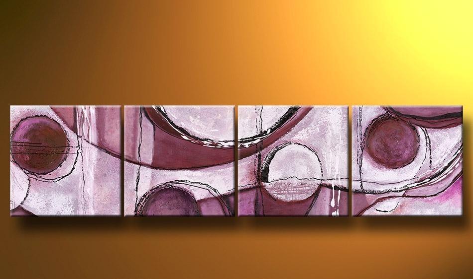 Cuadro modernos abstractos tripticos cuadros hacer - Cuadros abstractos paso a paso ...