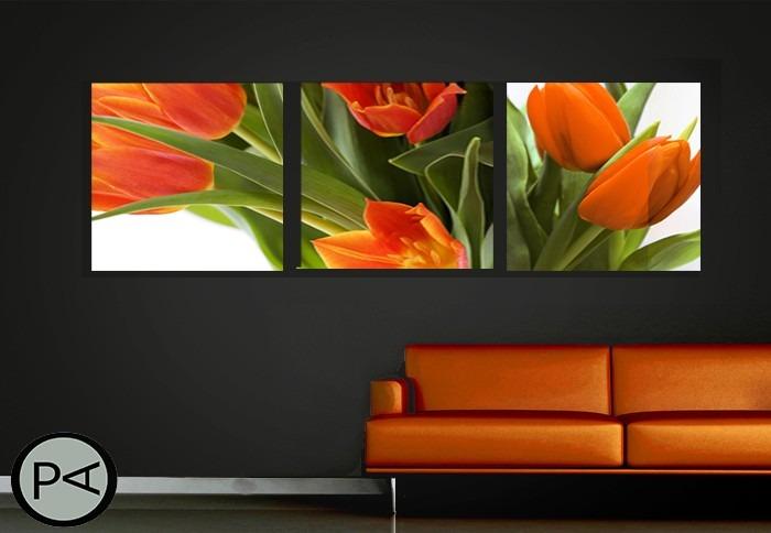 cuadros abstractos modernos en trptico o bptico