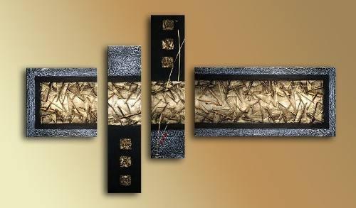cuadros abstractos modernos polipticos decorativos