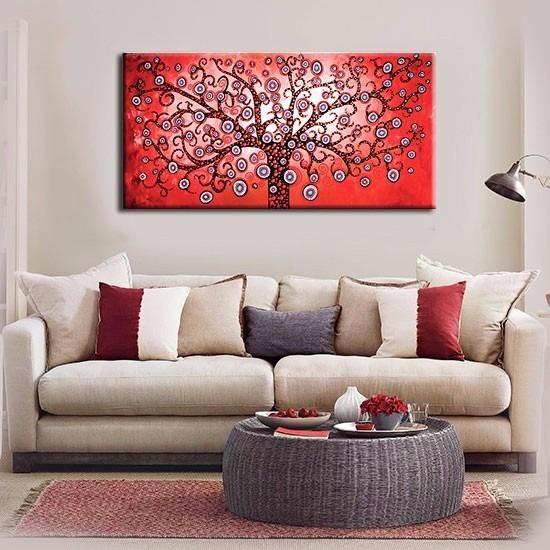 cuadros abstractos modernos tripticos living comedor decorar - Cuadros Grandes Dimensiones