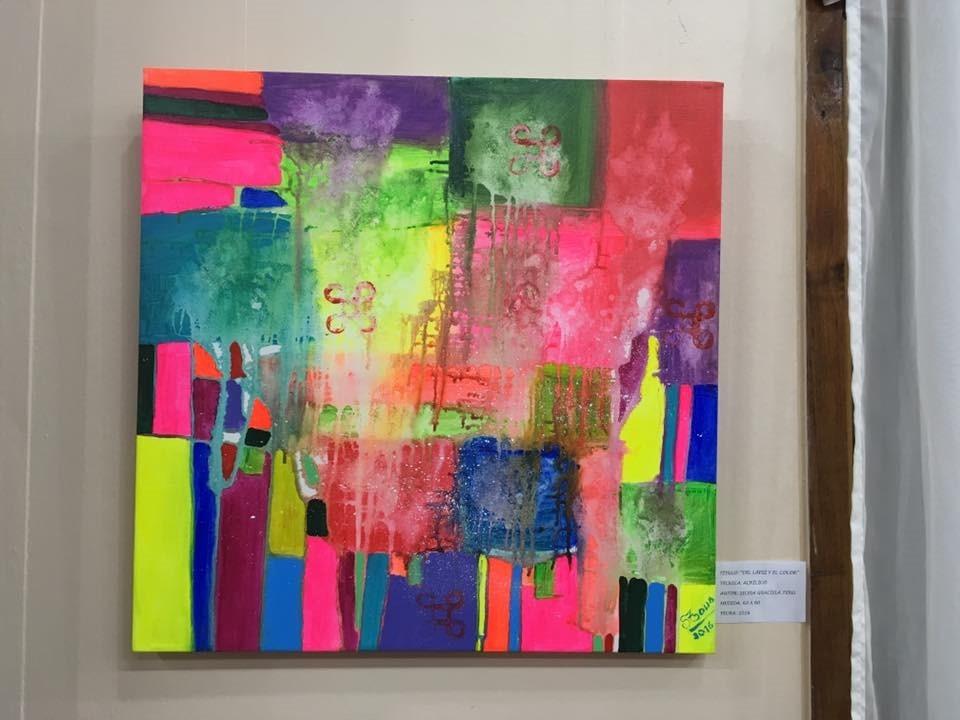 Fotos de cuadros abstractos cuadros abstractos en tienda for Cuadros abstractos con marco