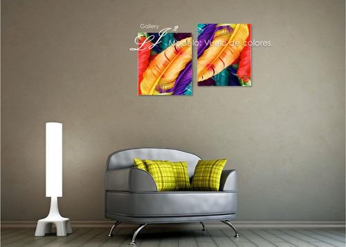 cuadros abstractos y modernos - decoración de interiores