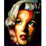 Cuadro Marilyn Monroe Pintura Arte Oleo Ultima Cena Obra