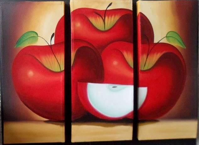Cuadros al oleo abstractos minimalistas modernos 195 for Cuadro en lienzo modernos