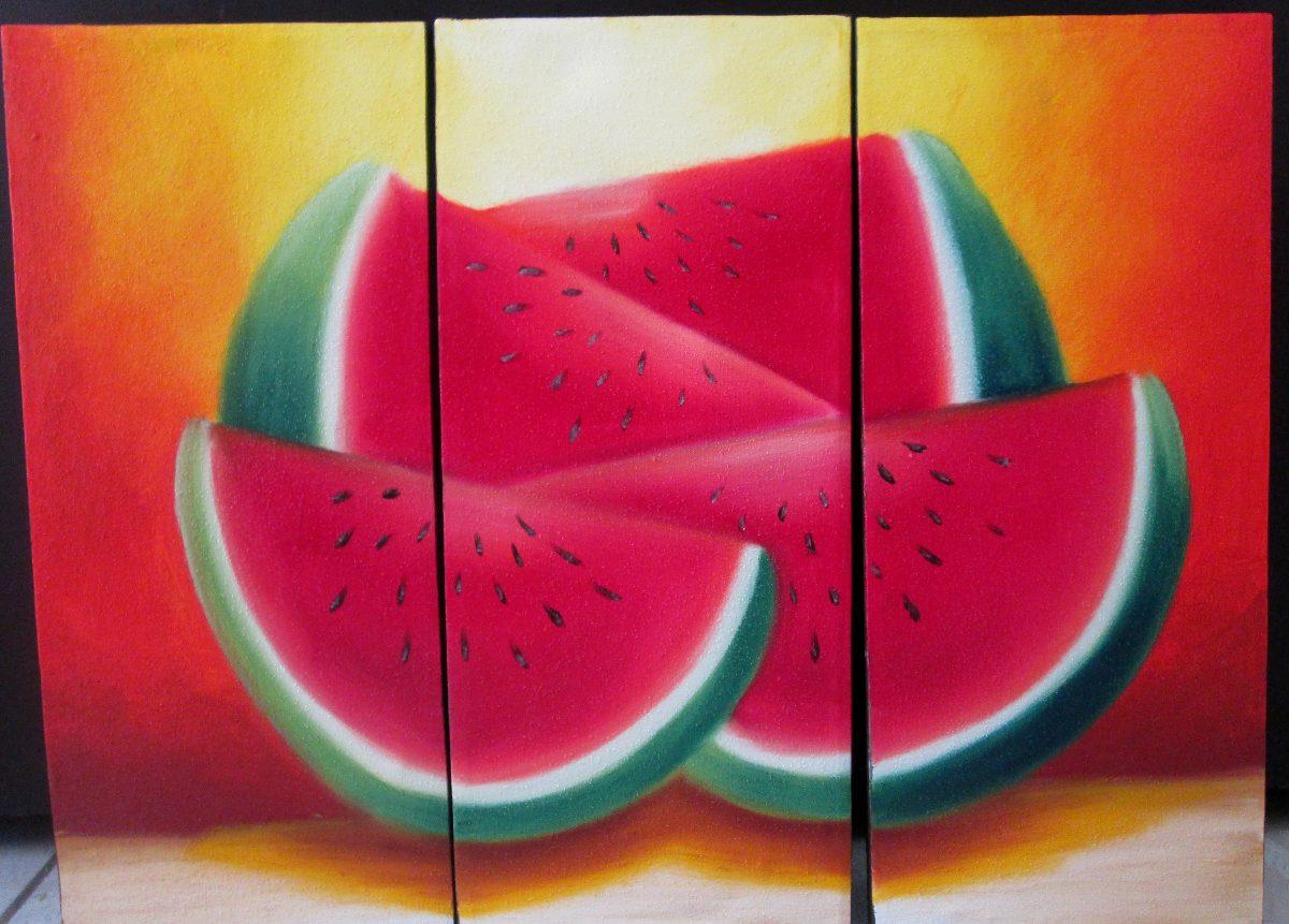 Cuadros al oleo abstractos minimalistas y modernos tripticos en mercado libre - Fotos de cuadros modernos ...