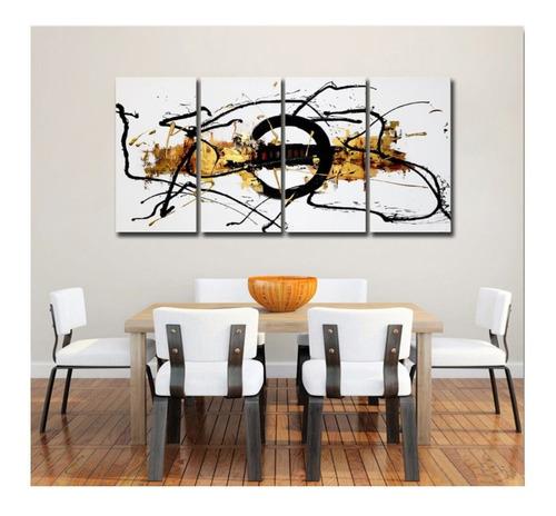 cuadros al oleo abstractos modernos tripticos