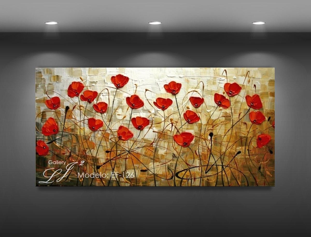 Cuadros al leo con esp tula 100 a mano flores arte - Cuadros con fotos originales ...