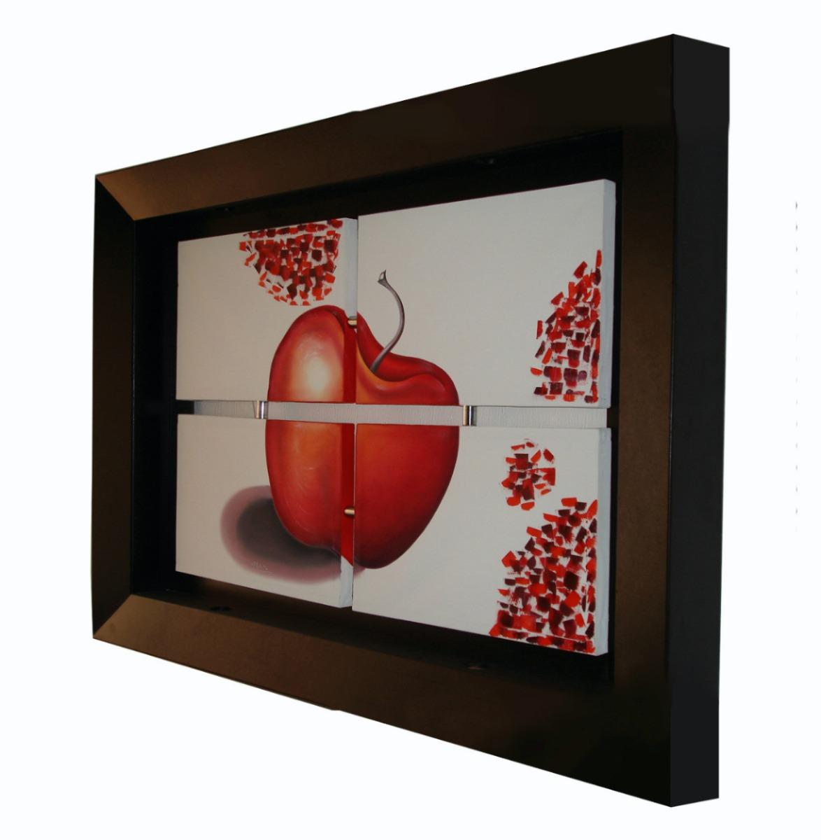 cuadros al leo marco con luz spo 2 en mercado On marcos profundos para cuadros