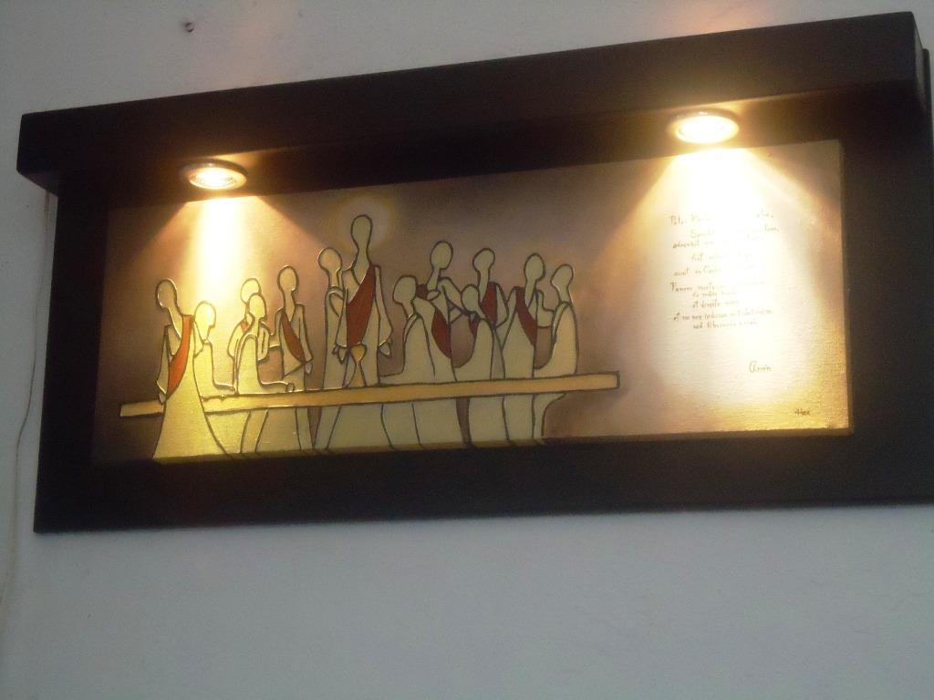 Cuadros al leo marco con luz spo 2 en mercado for Marcos para cuadros a medida