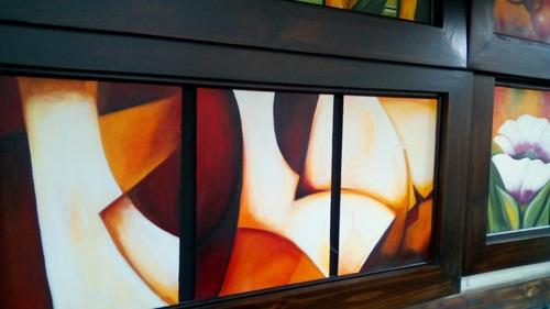 cuadros al oleo modernos abstractos bodegones paisajes