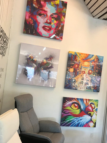 cuadros al oleo modernos cuadros decorativos de diseño