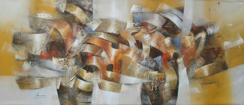 cuadros al oleo modernos.pinturas para sala hogar