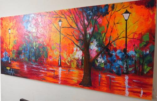 cuadros al óleo, pinturas al óleo paisaje!