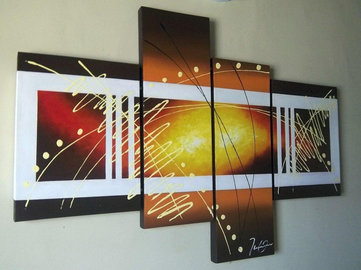 Cuadros al oleo sobre lienzo abstractos pintura moderna - Cuadros pintura acrilica moderna ...