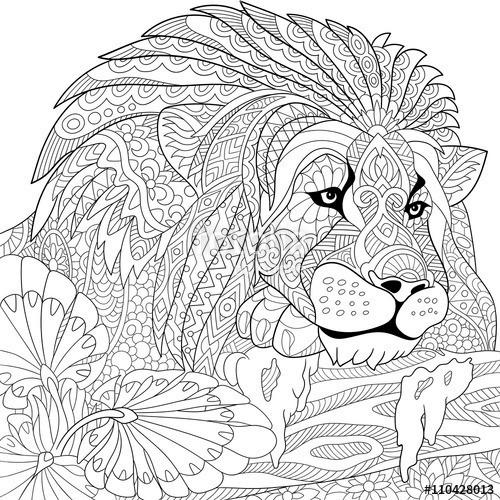 Cuadros Animales Para Pintar Sobre Lienzo De Algodón