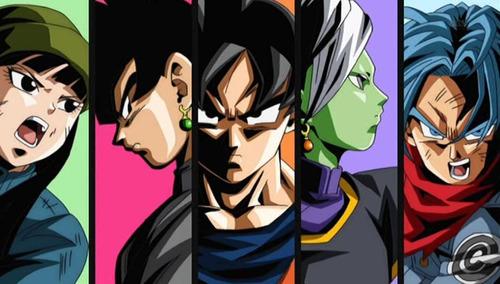 cuadros anime comics dragon ball super goku vegeta y mas