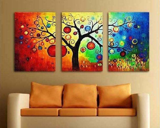 cuadros arbol dla vida abstractos pinturas grandes oferta