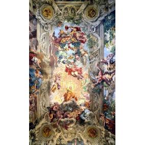 30dc35b8ad450 Lienzo Tela Arte Sacro Divina Providencia Pietro Da Cortona