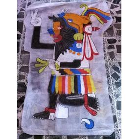 Arte Dibujo A Lápiz Cultura Azteca En Mercado Libre México
