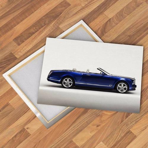 cuadros autos bentley grand rolls royce deportivo lujo 60x40