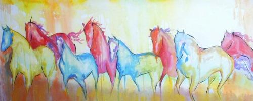 cuadros caballos