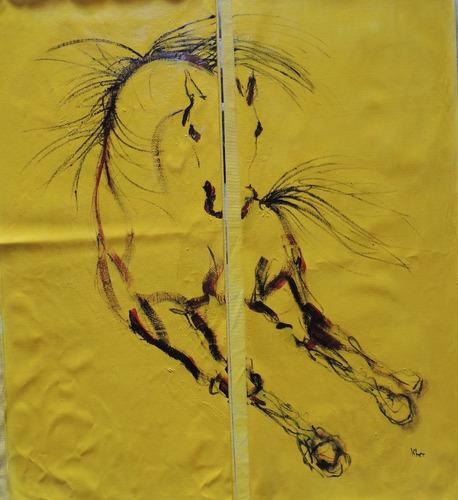 cuadros caballos arte pintura caballos decoración arquitecto