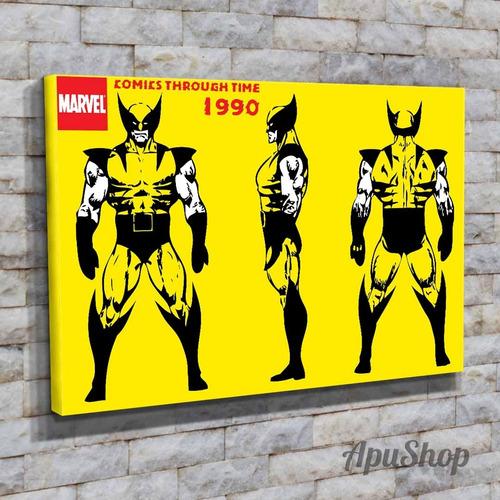 cuadros canvas 45x30 x men marvel historietas comics y más