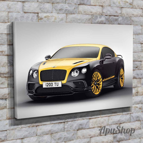 cuadros canvas autos bentley continental rolls royce 75x50